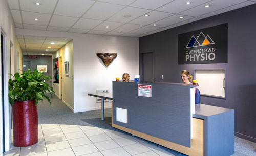 Queenstown Physiotherapy Reception